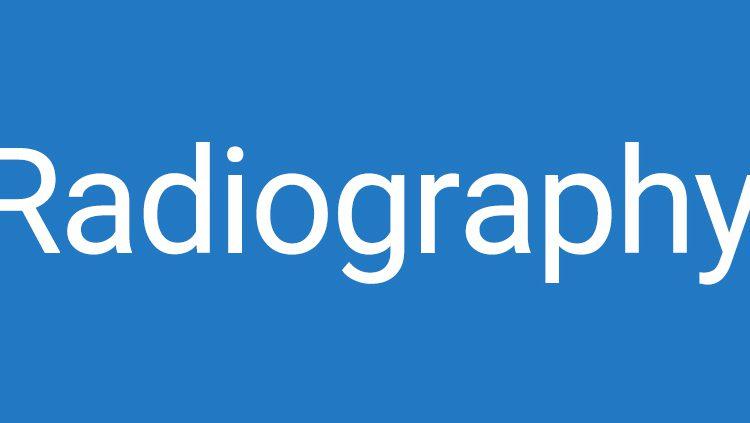 04 Radiography